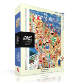 NY Puzzle NY Puzzle - Beachgoing 1000pc
