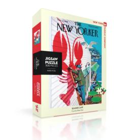 NY Puzzle NY Puzzle - Seaside Cafe 500pc