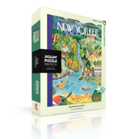 NY Puzzle NY Puzzle - Summer Vacation 500pc