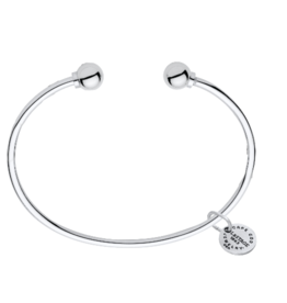 LeStage LeStage - The Classic Cape Cod Double Ball Bracelet - Sterling Silver with a Sterling Silver Ball