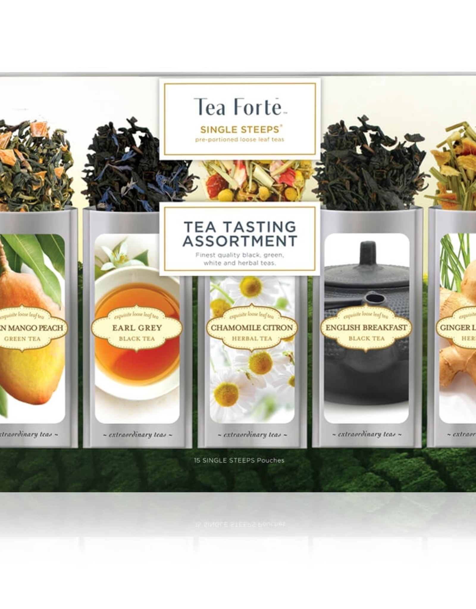 Tea Forte Tea Forte - Single Steeps Tea Tasting
