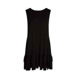 Accent Accessories Accent - Alex Ruffle Pocket Dress Black