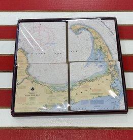 Screencraft Screencraft - Coaster Set of 4 Cape Cod
