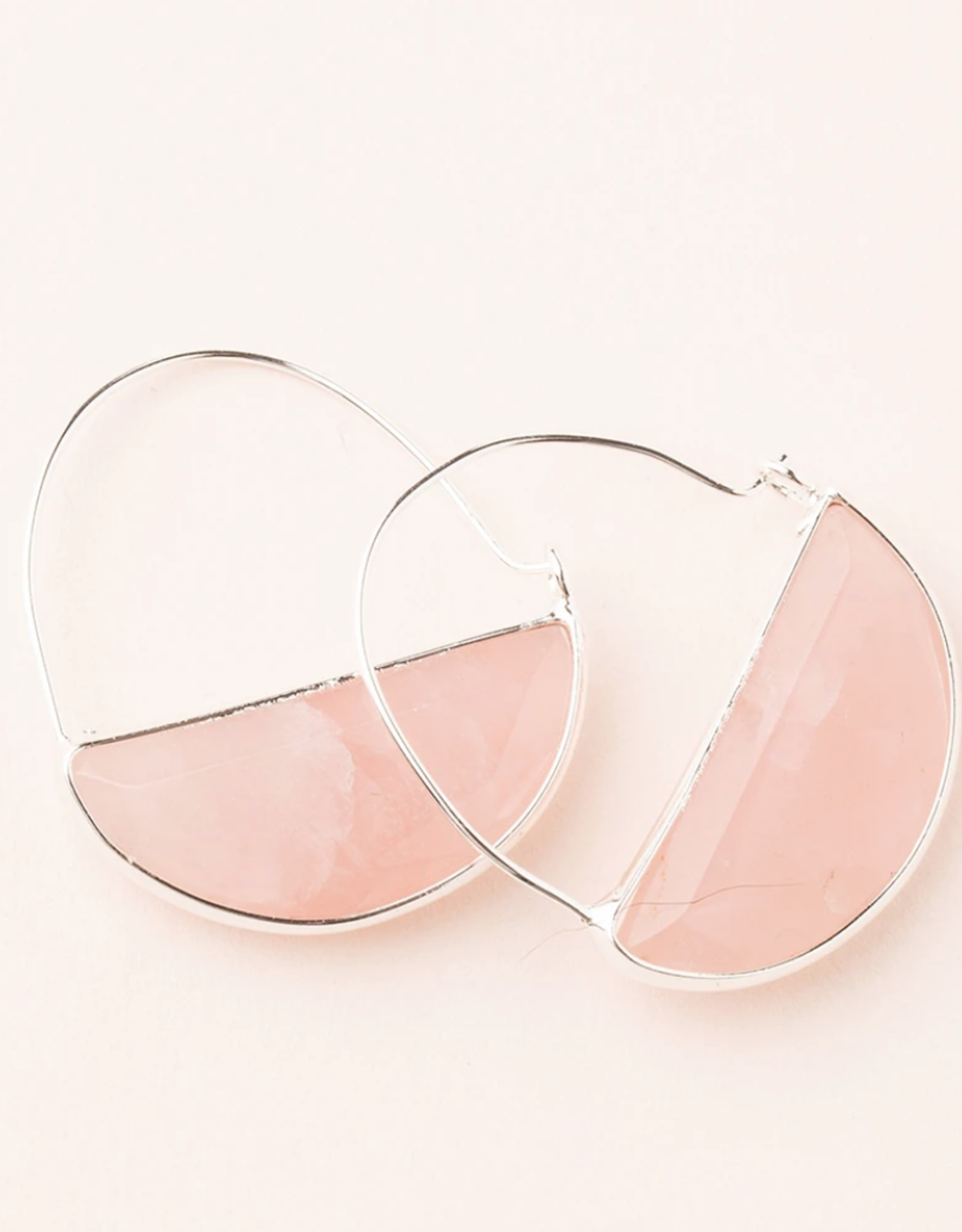Scout Curated Wears Scout Curated Wears - Stone Prism Hoop Stone of the Heart