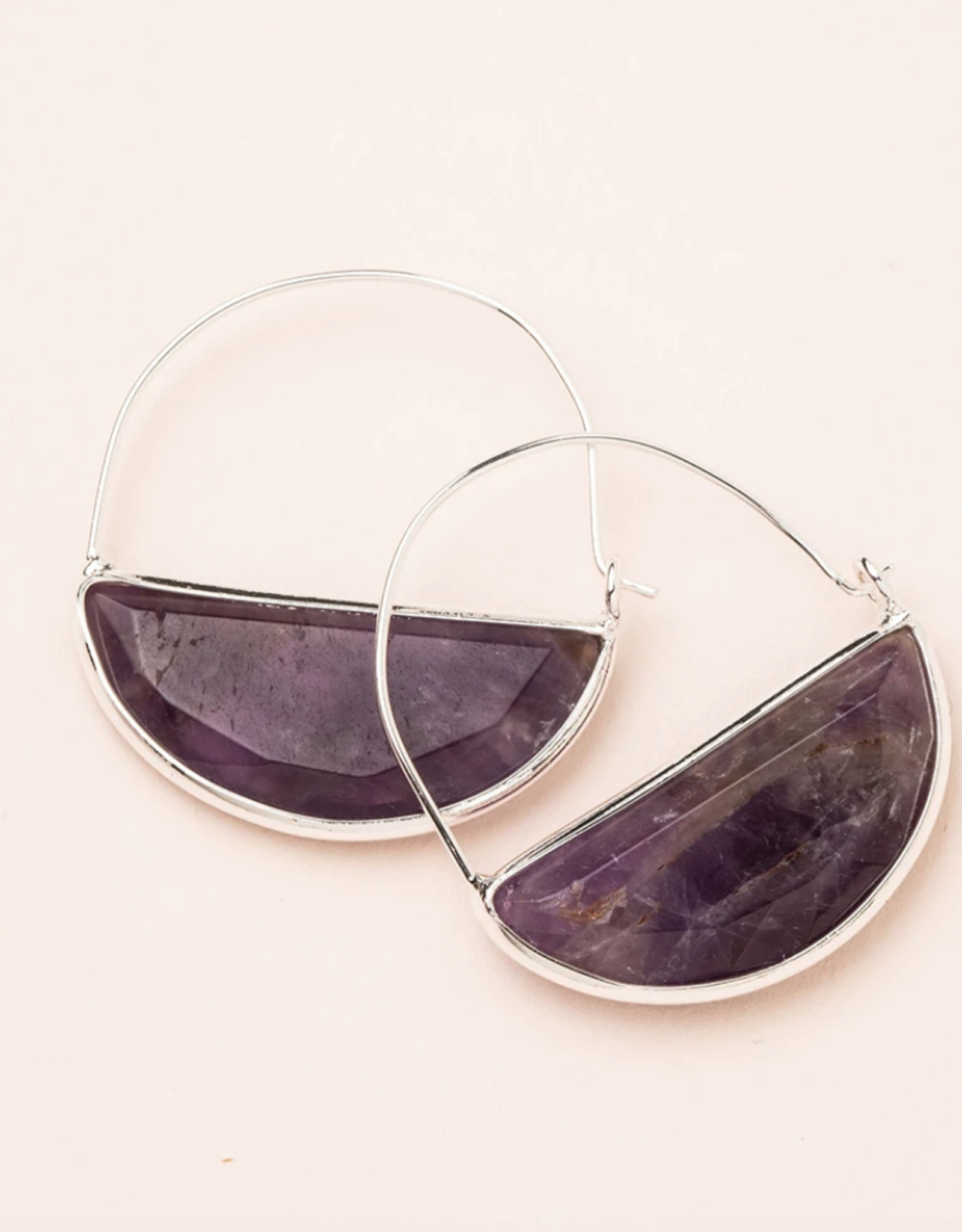 Scout Curated Wears Scout Curated Wears - Stone Prism Hoop Stone of Protection