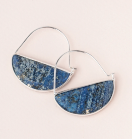 Scout Curated Wears - Stone Prism Hoop Stone of Truth