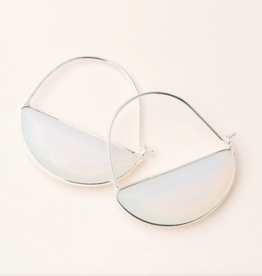 Scout Curated Wears - Stone Prism Hoop Stone of Healing
