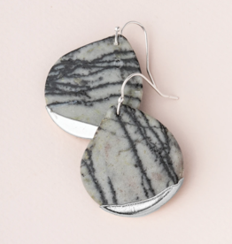 Scout Curated Wears - Stone Dipped Teardrop Earring Stone of Creativity