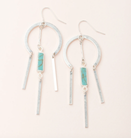 Scout Curated Wears - Dream Catcher Earring Stone of the Sky