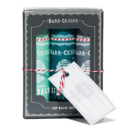 Barr Co Barr Co - Lip Balm Trio Set Cool