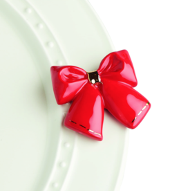 Nora Fleming Nora Fleming Charm - Bow - Red