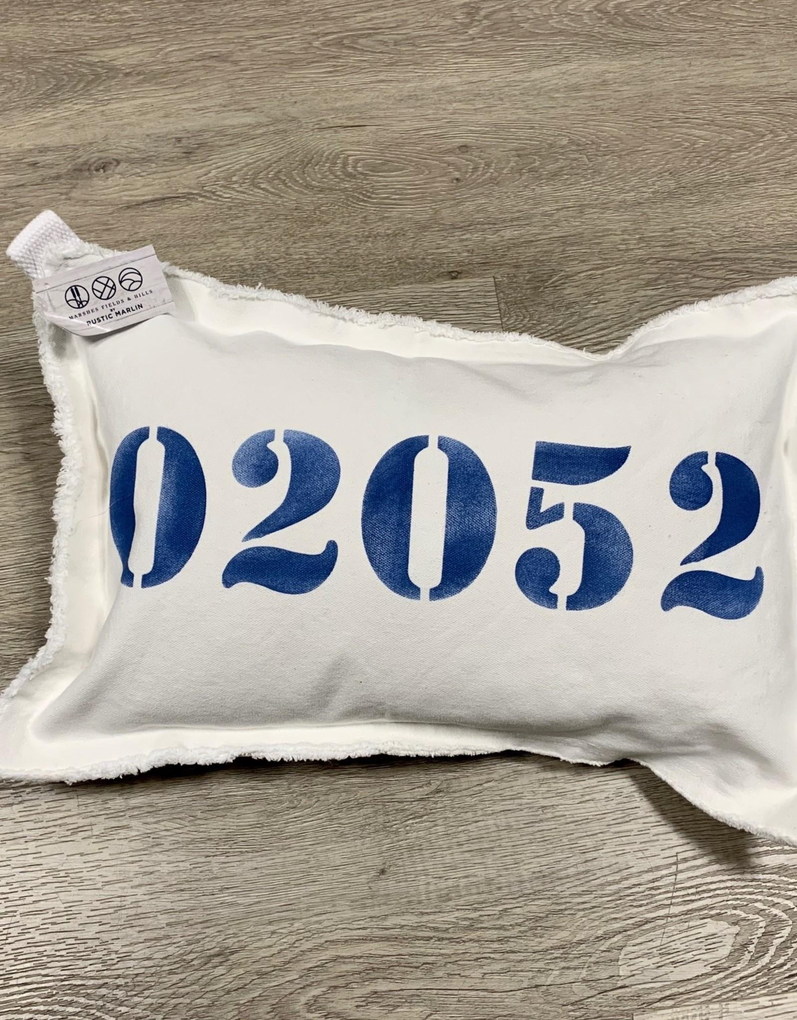 Marshes, Fields & Hills - 02052 12x18 Pillow