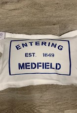 Marshes, Fields & Hills - Entering Medfield 12x18 Pillow