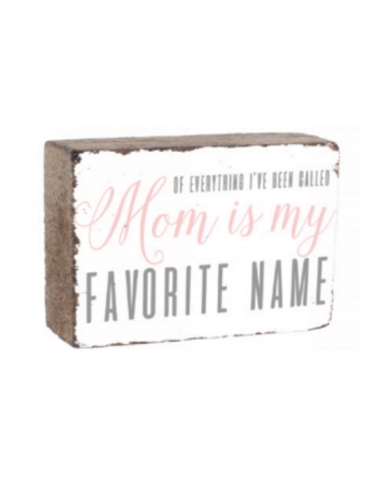 Rustic Marlin Rustic Marlin - XL Blocks Mom is my favorite name