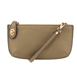 Joy Susan Joy Susan - Mini Crossbody Wristlet Army Green