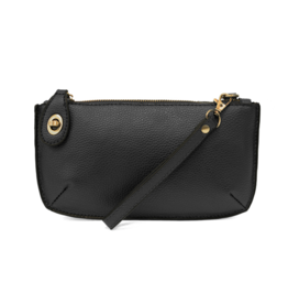 Joy Susan Joy Susan - Mini Crossbody Wristlet Black