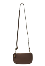 Joy Susan Joy Susan - Mini Crossbody Wristlet Chocolate