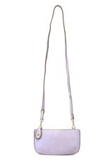 Joy Susan Joy Susan - Mini Crossbody Wristlet Lilac