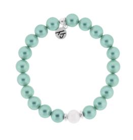 T. Jazelle T. Jazelle - Pearl Bracelet  Aqua