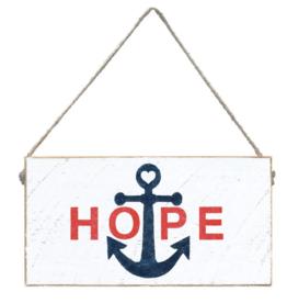 Rustic Marlin Rustic Marlin Mini Plank Hope Anchor