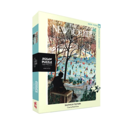 NY Puzzle NY Puzzle - Skating in the Park 750pc Puzzle