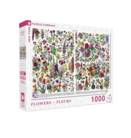 NY Puzzle NY Puzzle - Flowers Fleurs 1000pc