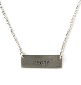 Chart Metalworks  02052 Bar Necklace