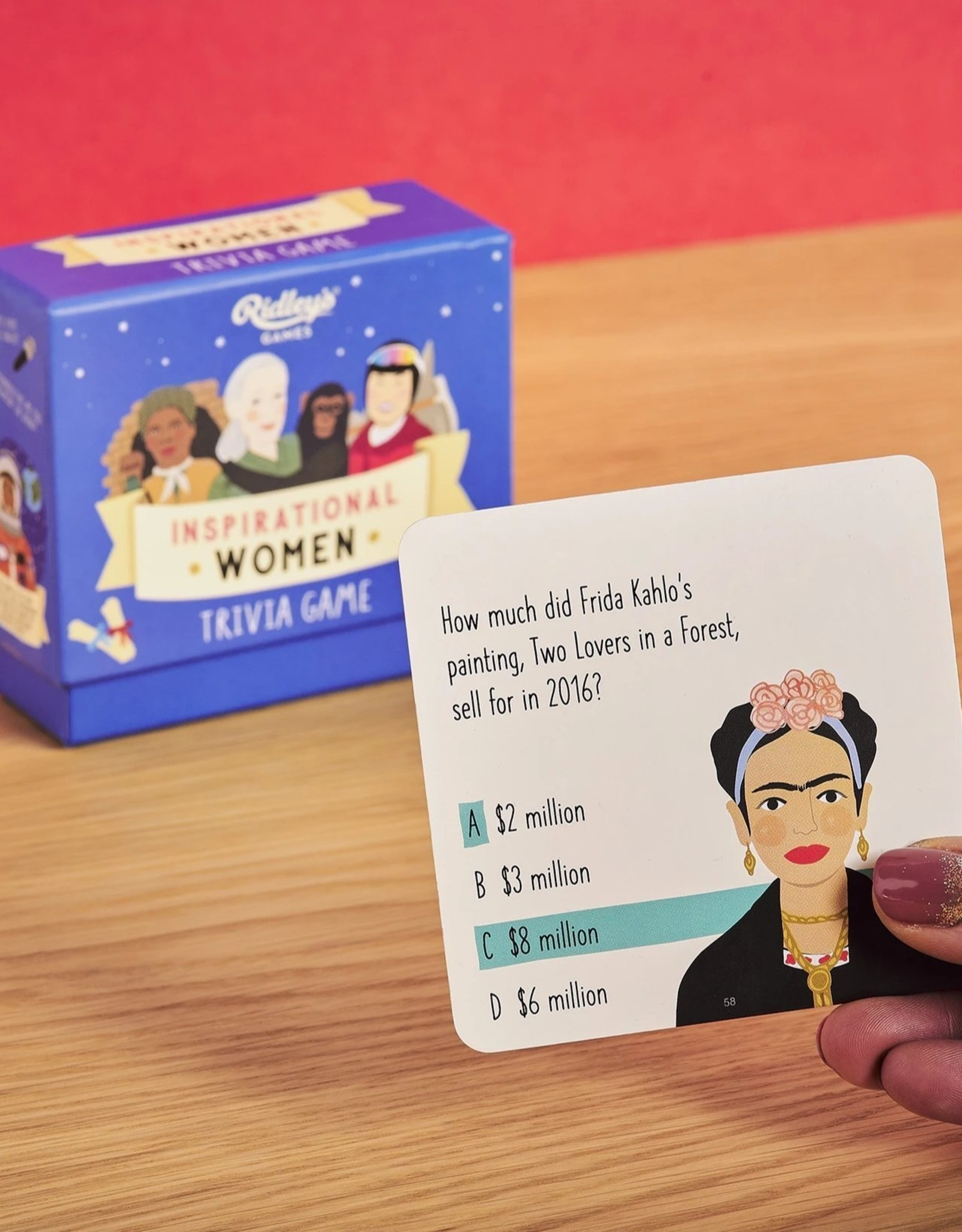 Wild and Wolf Wild and Wolf - Inspirational Women Trivia Game