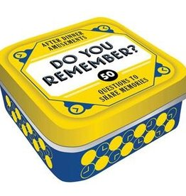 Hachette Book Group Game Tins - Do You Remember?