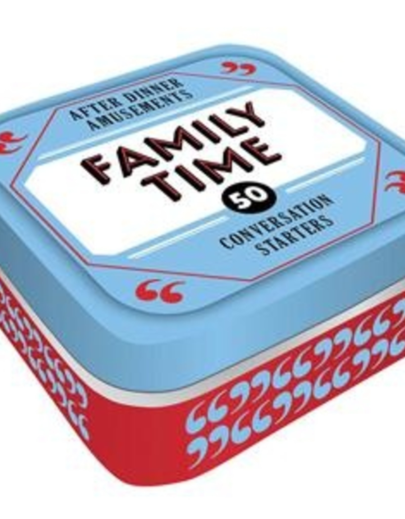 Game Tins - Family Time