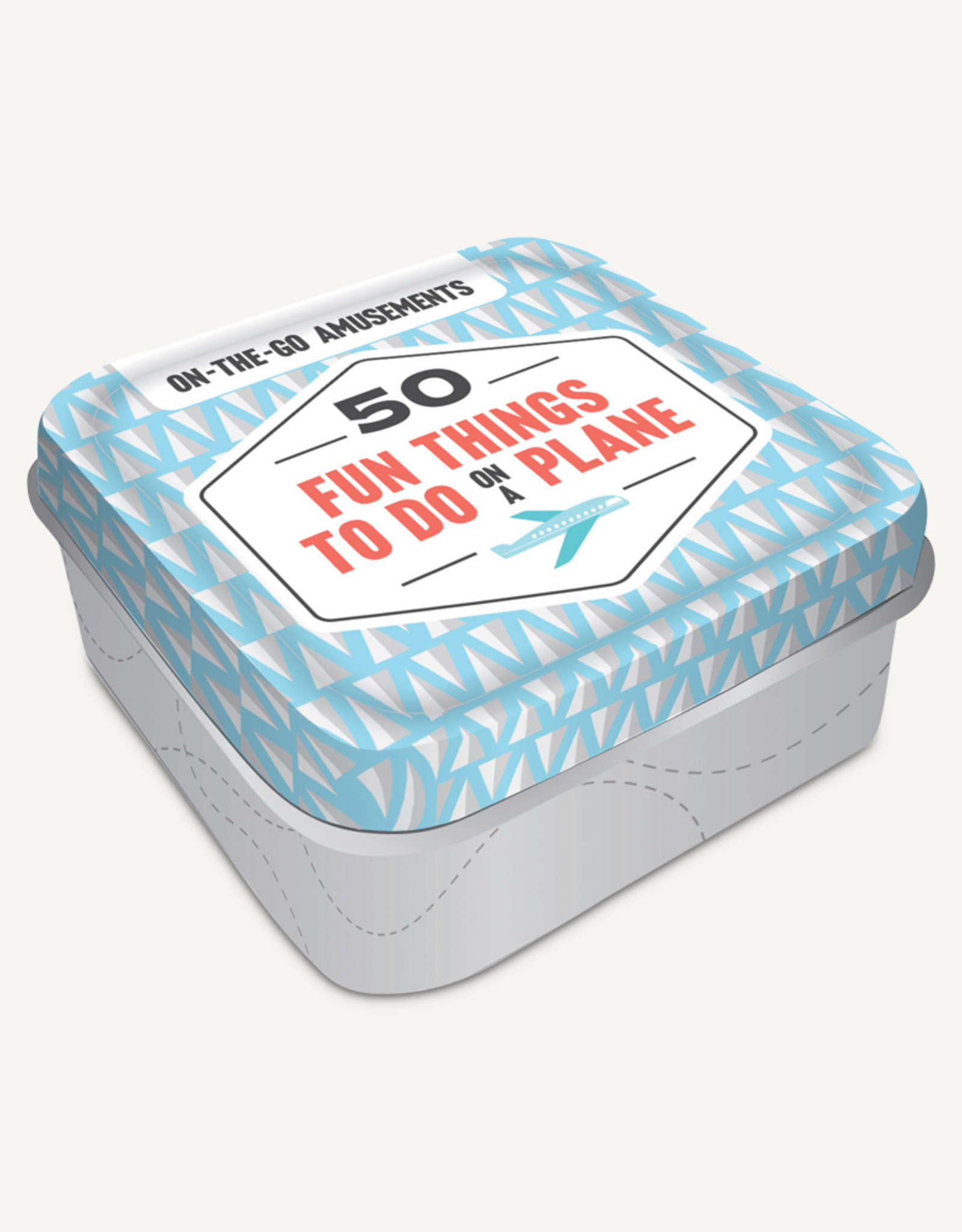 Hachette Book Group Game Tins - Fun Things To Do On A Plane