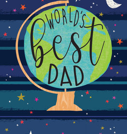 Pictura - Father's Day Card - Worlds Best Dad