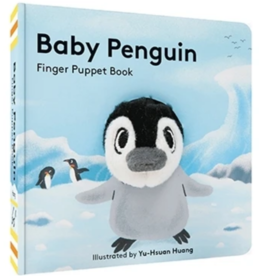 Hachette Book Group Baby Pengiun Finger Puppet Book