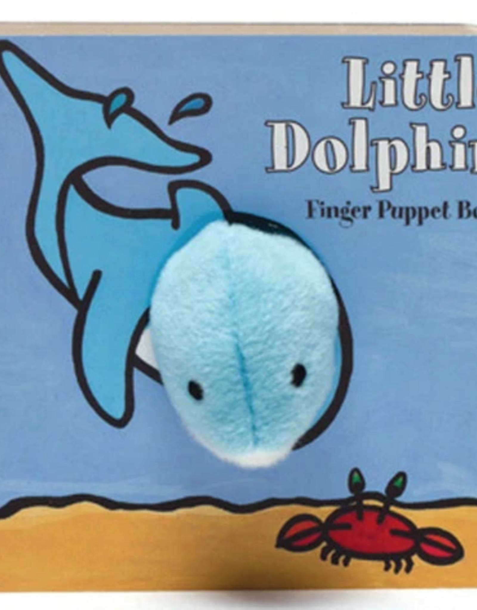 Hachette Book Group Little Dophin Finger Puppet Book