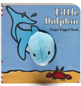 Hachette Book Group Little Dophin Finger Puppet Book