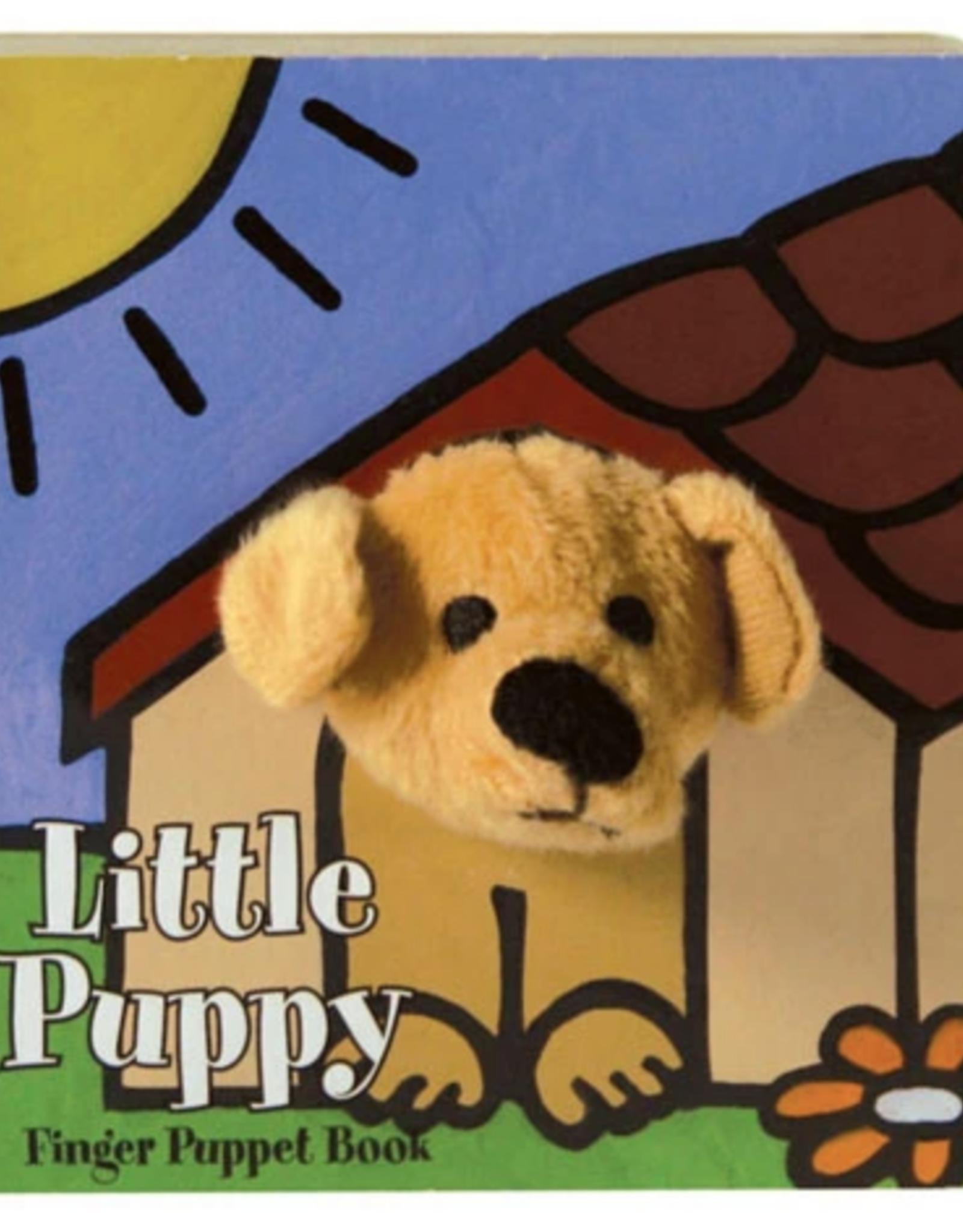 Little Puppy Finger Puppet Book