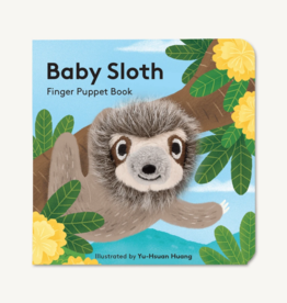 Hachette Book Group Baby Sloth Finger Puppet Book