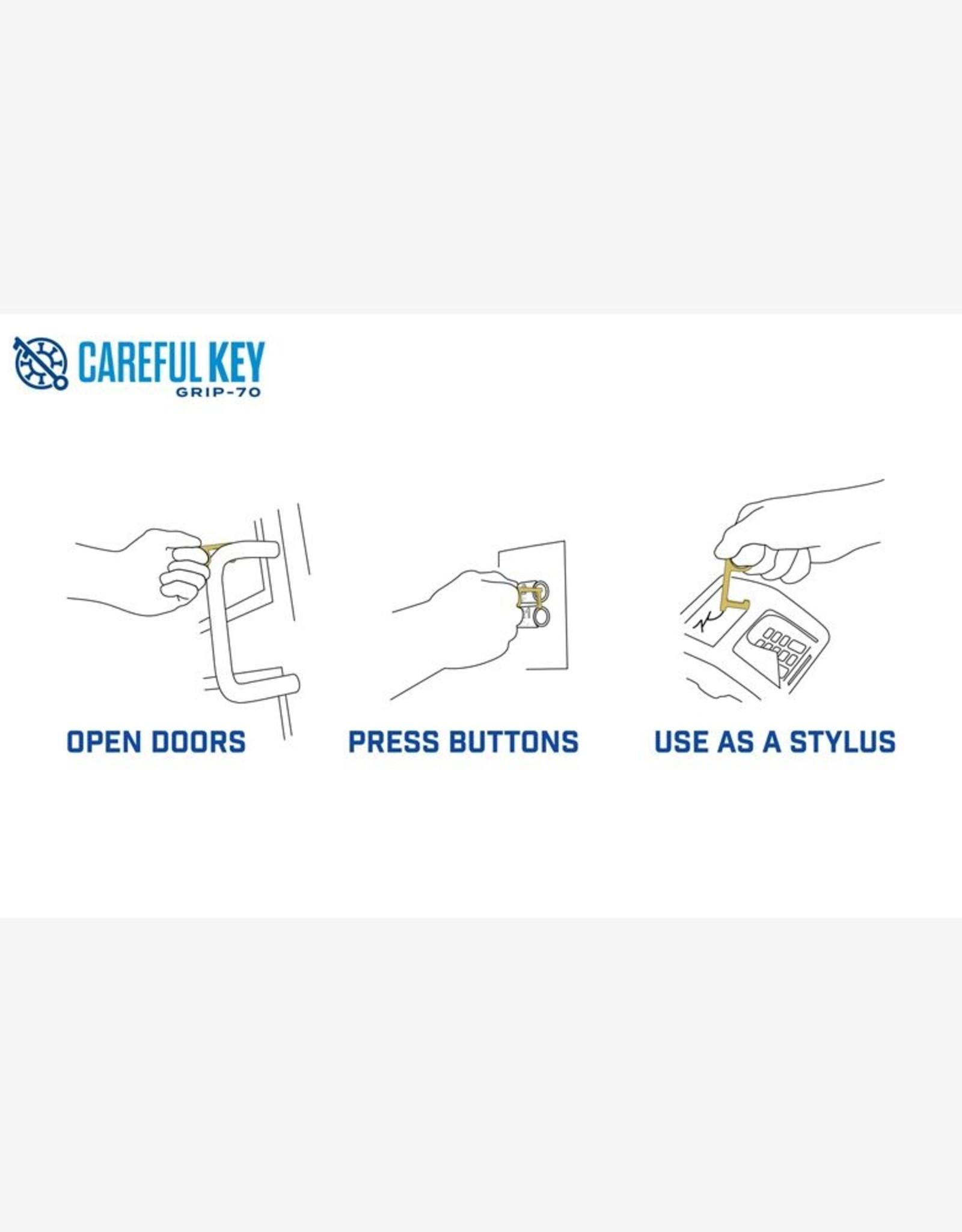 Zootility Zootility Careful Key - Antimicrobial Keychain Tool