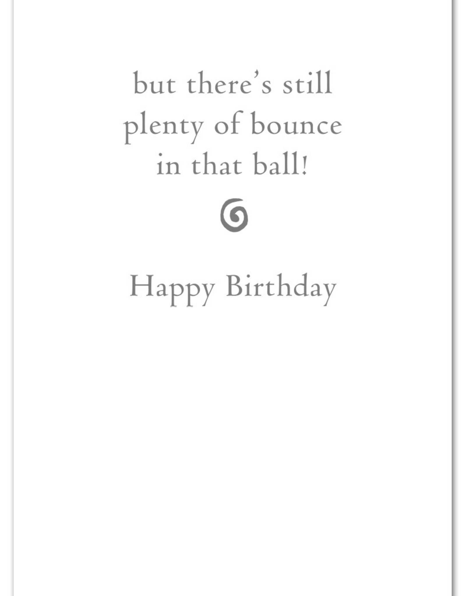 Cardthartic Cardthartic - Golden Gnawing Tennis Ball Birthday Card