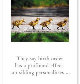 Cardthartic - Duckling Convoy Birthday Card