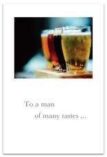 Cardthartic Cardthartic - To A Man Of Many Tastes Birthday Card