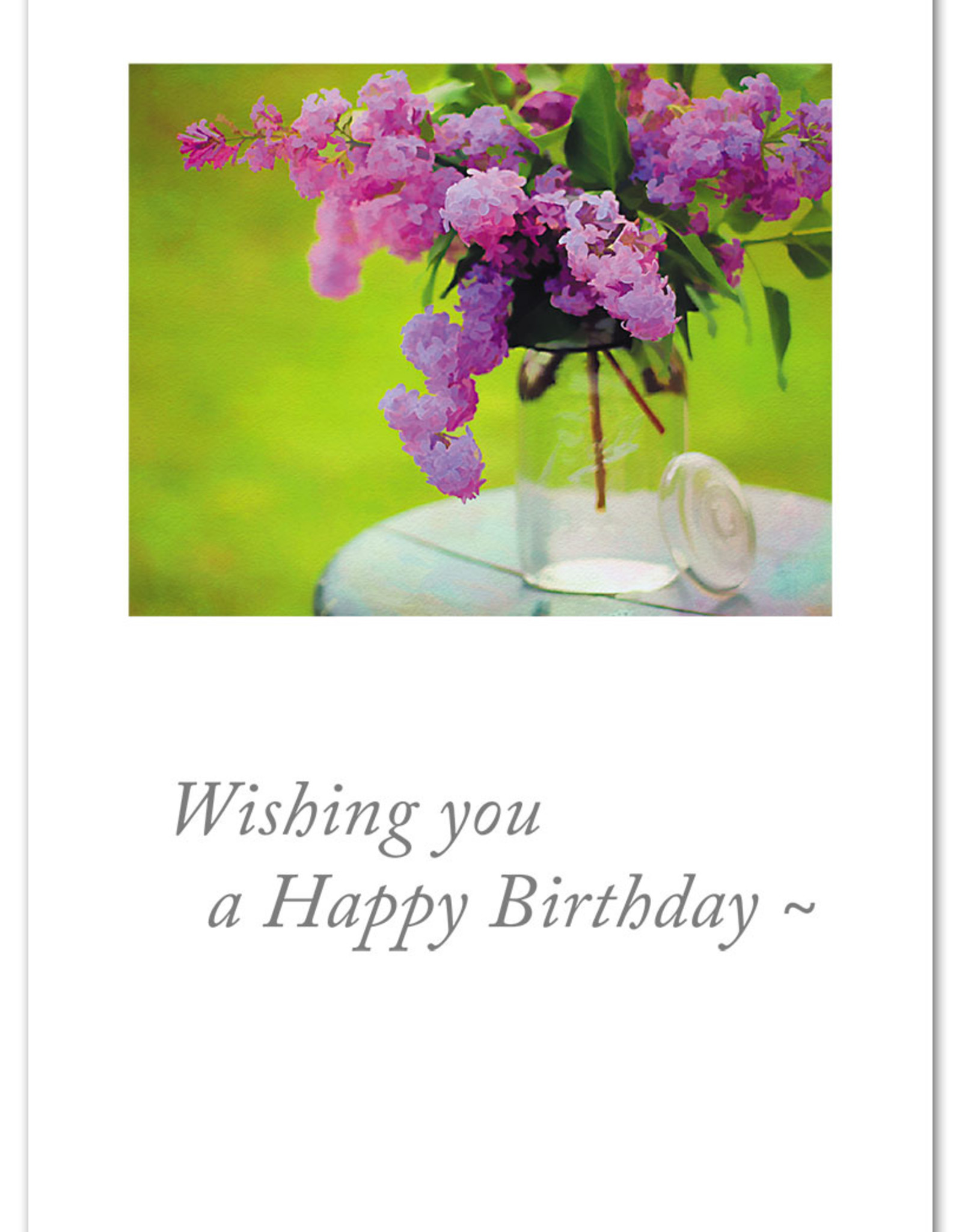 Cardthartic Cardthartic - Wishing You a Happy Birthday Flowers Card