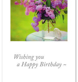 Cardthartic - Wishing You a Happy Birthday Flowers Card