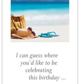Cardthartic - Beach Birthday Card