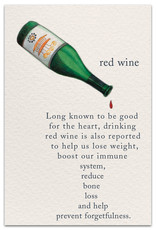 Cardthartic Cardthartic - Red Wine Birthday Card