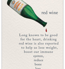 Cardthartic - Red Wine Birthday Card