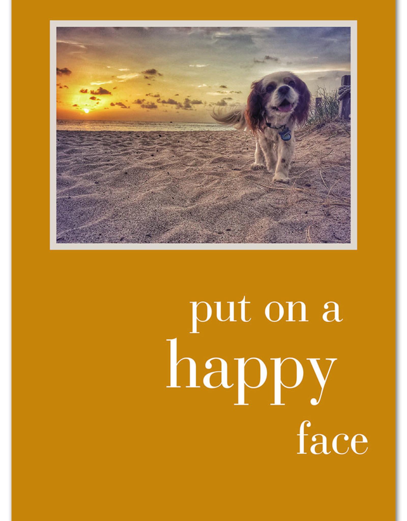 Cardthartic Cardthartic - Put on a happy face birthday card