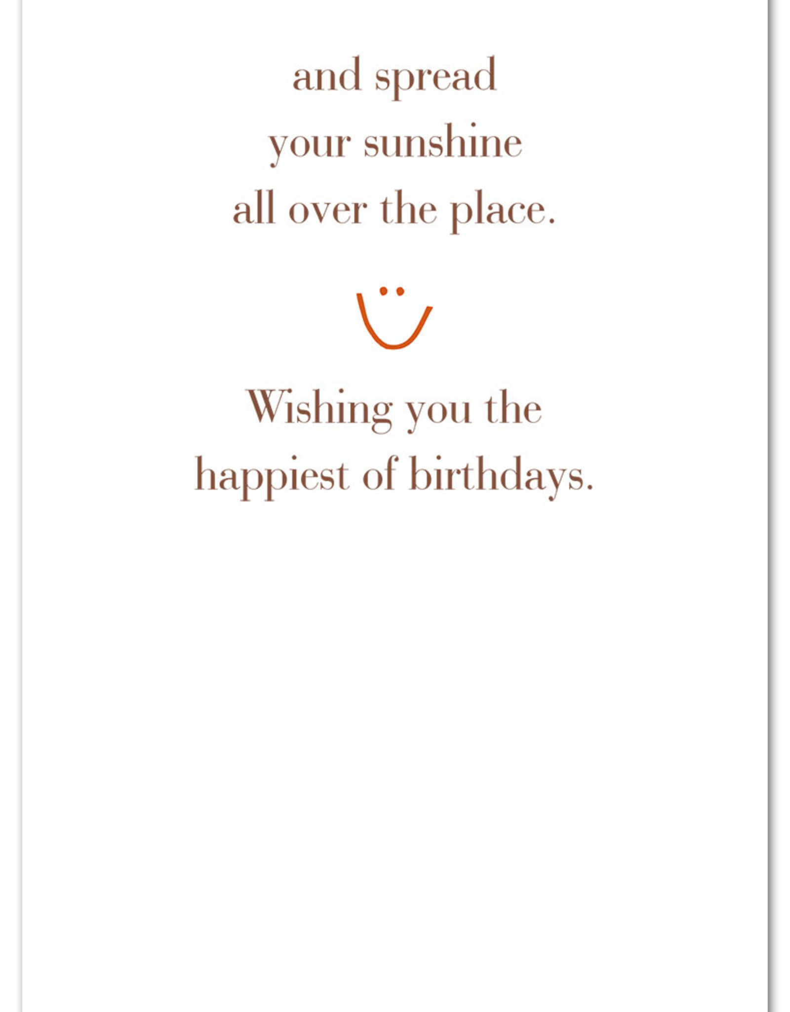 Cardthartic Cardthartic - Put on a happy face birthday card