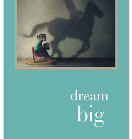 Cardthartic - Girl on Rocking Horse Birthday Card