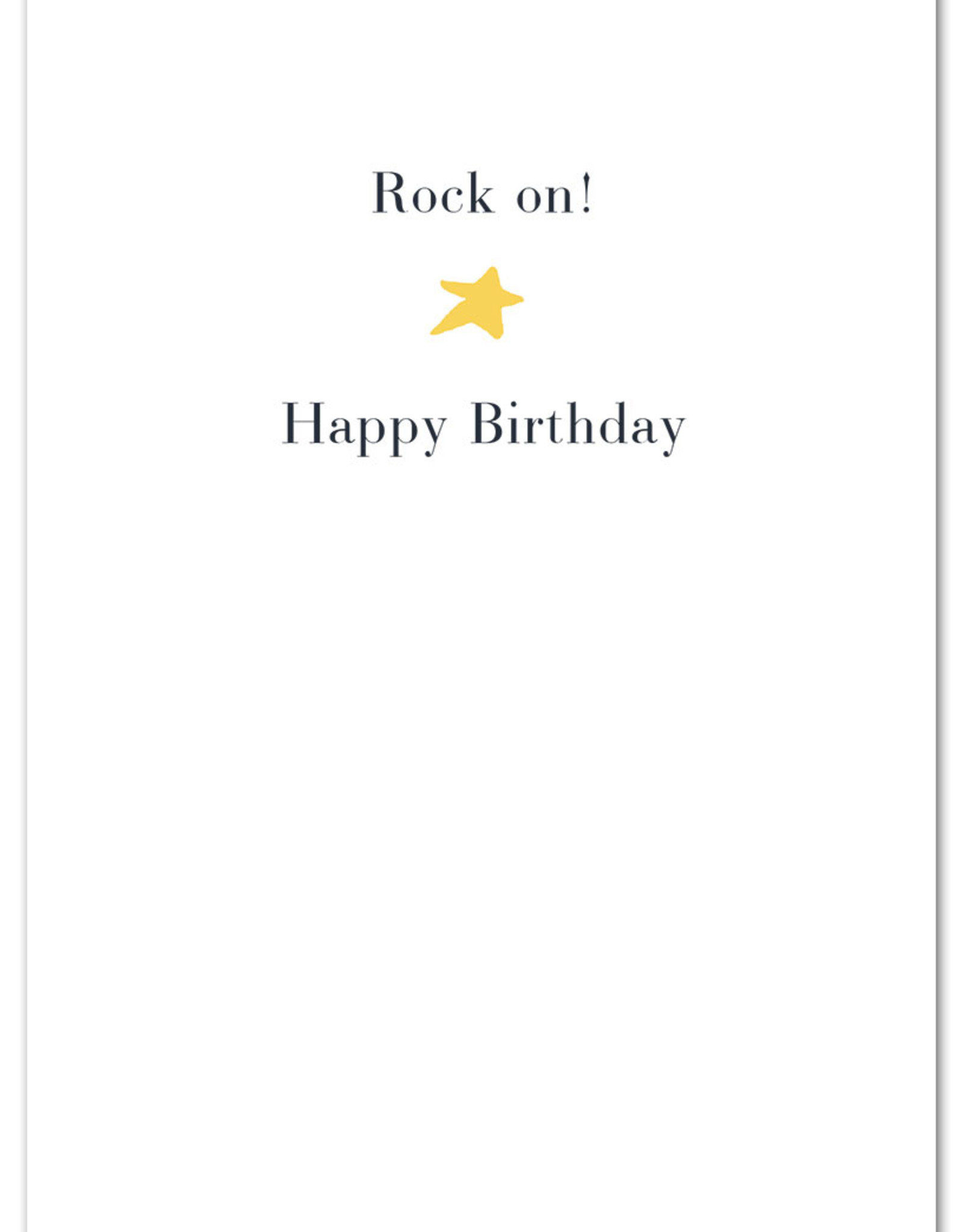 Cardthartic Cardthartic - Rock Star Birthday Card